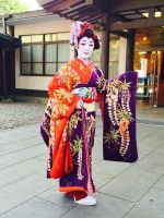 Guest  at Meiji Temple Wedding by AndySerrano