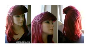 Ariel inspired wig by TheRealLittleMermaid