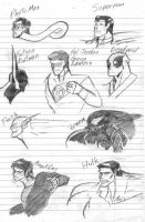 (Some) of My Favorite Heroes by SpottedAlienMonster