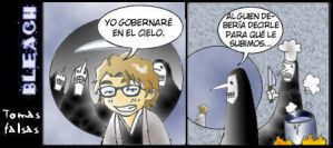 Bleach Toma Falsa Aizen by otakufran