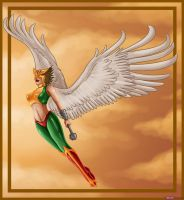 Hawkgirl by Dragon-Queen01456