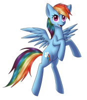 Rainbow Dash by DayDreamerForever95