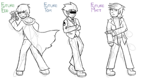 [C.A.] Future Selves' Designs by ew-a