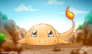 Charmander cutie! by Darkashter