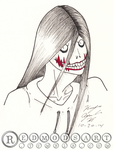 Jeff The Killer by randomdrawerchic