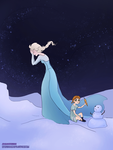 I do want to build a snowman by lvxferre