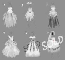 [OPEN] Adopt Bride Costume by WiskyLittle