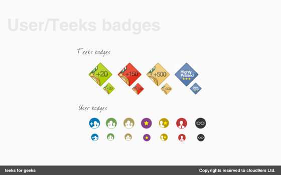 web badges by Ma7moudMetwally