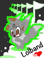 Lolband as an eevee eue by Hooplang
