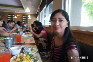 Me and my meal at Souplantation buffet restaurant by Magic-Kristina-KW