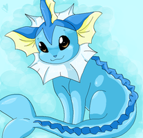 vaporeon is in ze bubbles by everspark