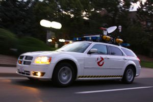 Ghostbusters Magnum Ecto-1 by Boomerjinks