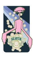 The 7even : Sloth by ironrunes