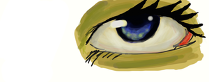 Eye attempt by AnOpinionToHear123