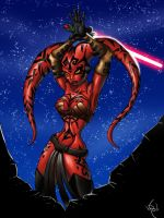 Darth Talon by LadyKallaghash