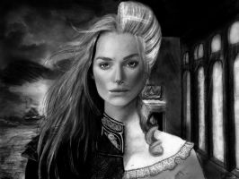 Pirates of the Carribean: Elizabeth Swann by kayleighmc