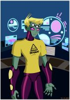Brainiac 5 .:T-shirt:. by Hiniha