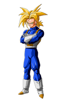 Trunks Ssj (Future)(RENDER) by ProjectsAlex