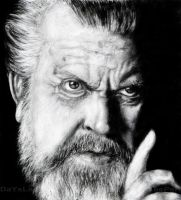 Orson Welles by daysleeper81