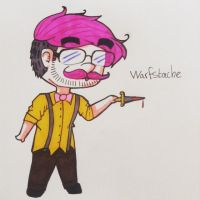 Warfstache by singingaboutthesnow