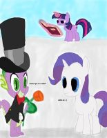 Ups Wrong Spell Age Spell mlp rarity and spike by daylover1313