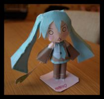 Papercraft - Miku by flames-of-monki