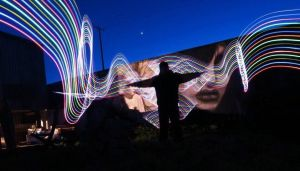 Light art by Faigy