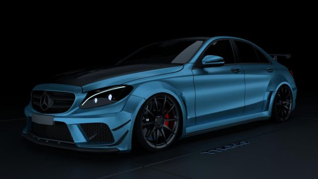 C63 AMG black series - TTKiNG by TTKiNG13