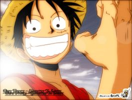 One Piece - Luffy by Rufek