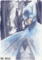 Batman painting by crow110696