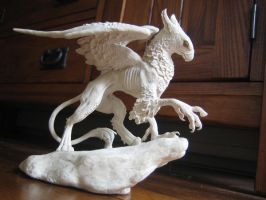 griffon sculpture 2 by dancing-dragon