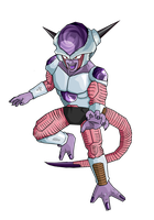 Frieza first form without armor by RobertoVile