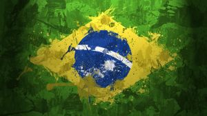Brazil Flag Wallpaper by GaryckArntzen