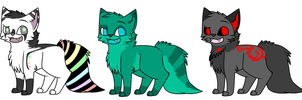 Chibi Canine adopts [OPEN] by Whisper-Adoptz