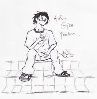 Another G-pen practice by ayer-online