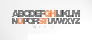 Alphabetical Ghost by NekohDot