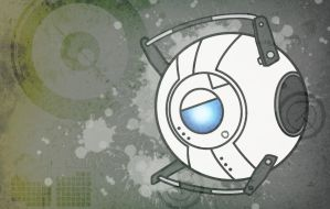HEY LOOK. It's Wheatley. xD by InvaderAli87