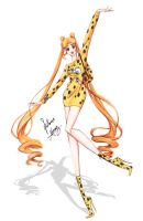 Sailor Moon in Moschino outfit. by frozen-winter-prince