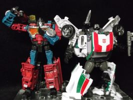 Perceptor and Wheeljack, The Autobots top minds by forever-at-peace