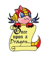 Once upon a dragon by AmpDragoness