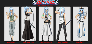 Bleach Races Meme *COMPLETE* by maple-flower