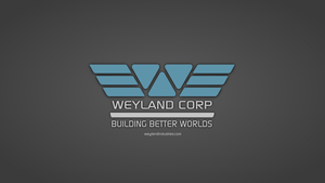 Weyland Industries Wallpaper by RocketmanTan
