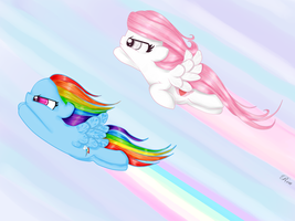 To the speed of light! by RouCaelum
