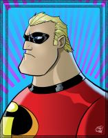 Mr. Incredible by Kenpudiosaki