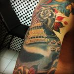 Guitar tattoo by Juliano-Pereira