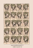 24 Expressions-BIS by Gyrard