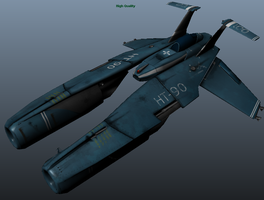 Game Model Hammertail WIP by Artificialproduction