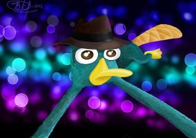 Perry the platypus by Victory-S