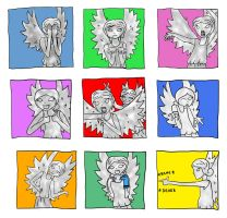 When Weeping Angels Get Bored... by TomperWomper