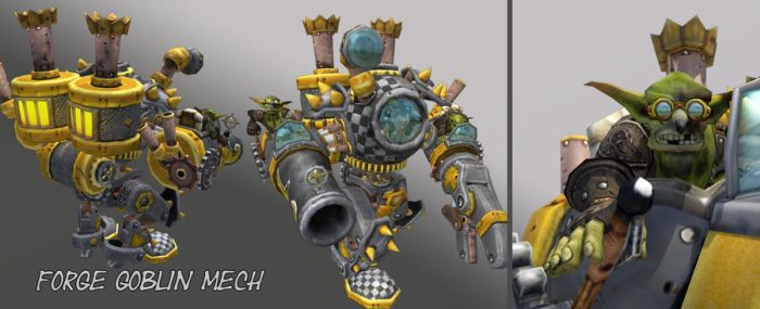 Forge Goblin Mech by GninjaGnome